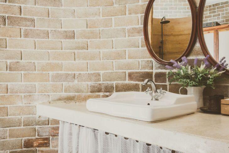 Umywalka nablatowa prostokątna