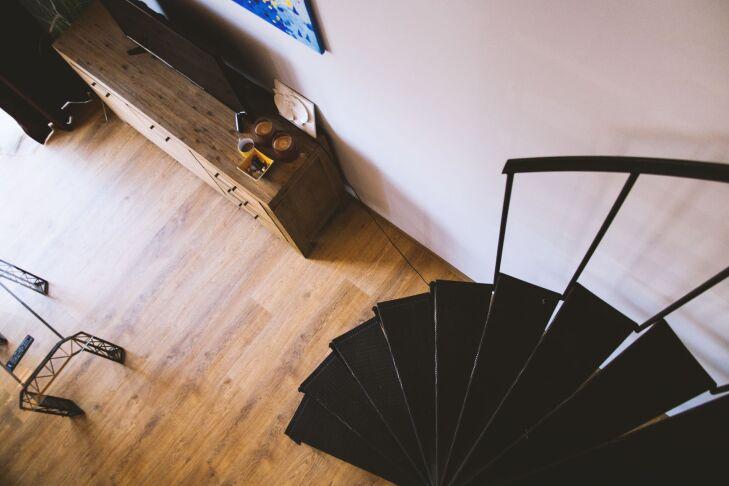 wiatrołap schody