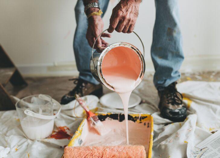 Malowanie kuchni