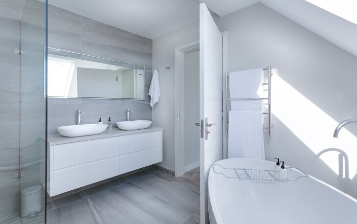 Grzejnik łazienkowy pionowy