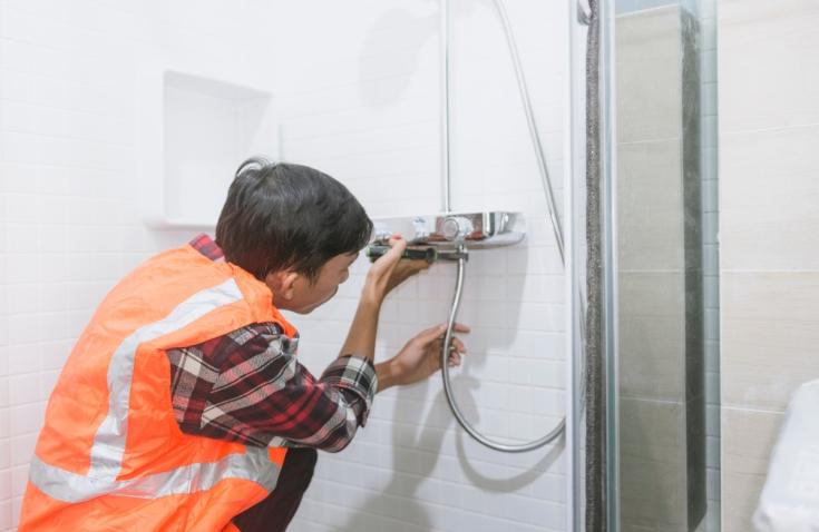 Remont łazienki prysznic