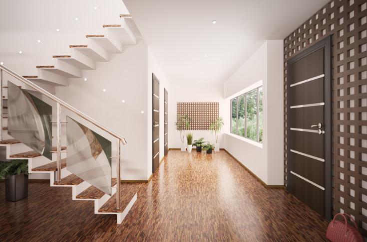 Nowoczesne schody wewnętrzne