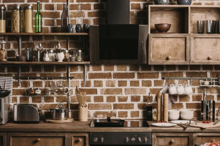 Okap kuchenny kominowy