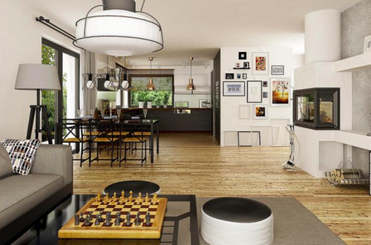 Jak urządzić przestrzeń w domy parterowym