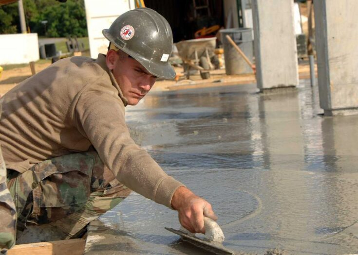 Jak zbudować taras z betonu?
