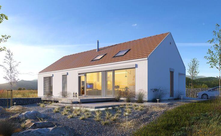 Projekt domu w stylu nowoczesnej stodoły