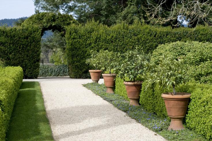 Ścieżki w ogrodzie żwirowe