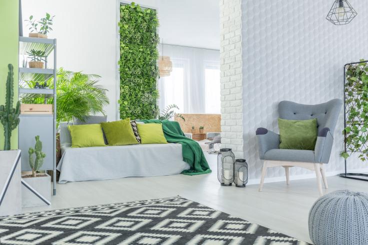 Ogród werykalny DIY