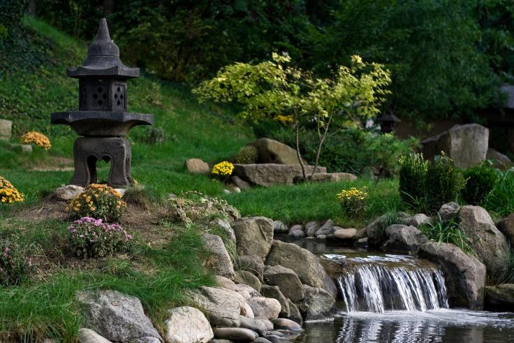 Mały ogród japoński
