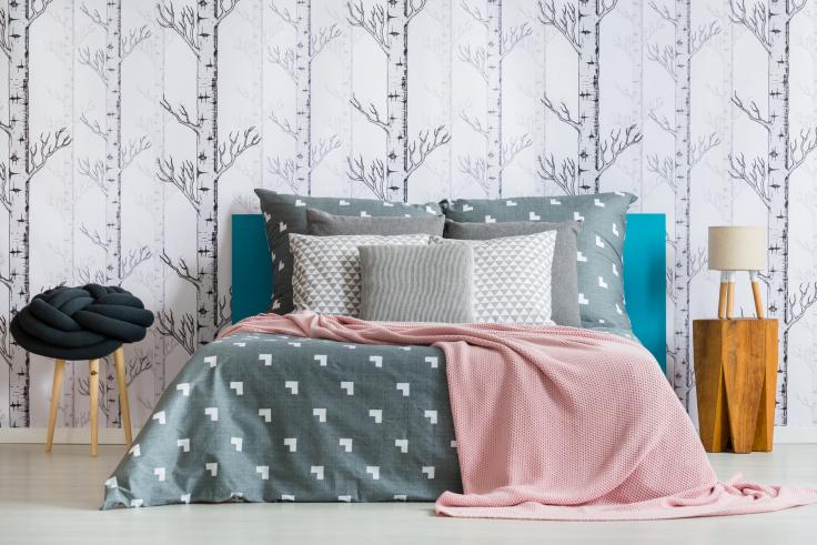 Nowoczesne tapety do sypialni