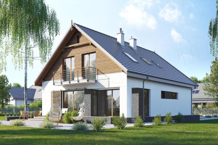 Projekt domu E-256