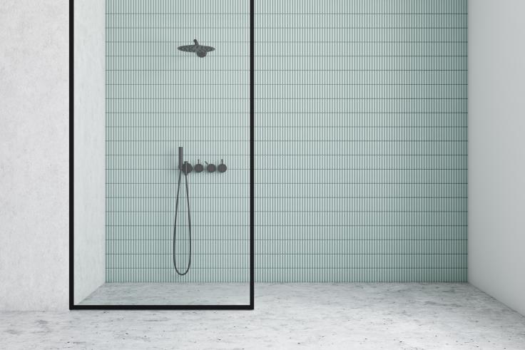 Łazienka z prysznicem walk-in