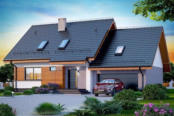 Projekt domu Lisandra 2M