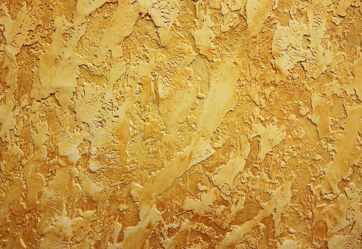 Tynk dekoracyjny złoty