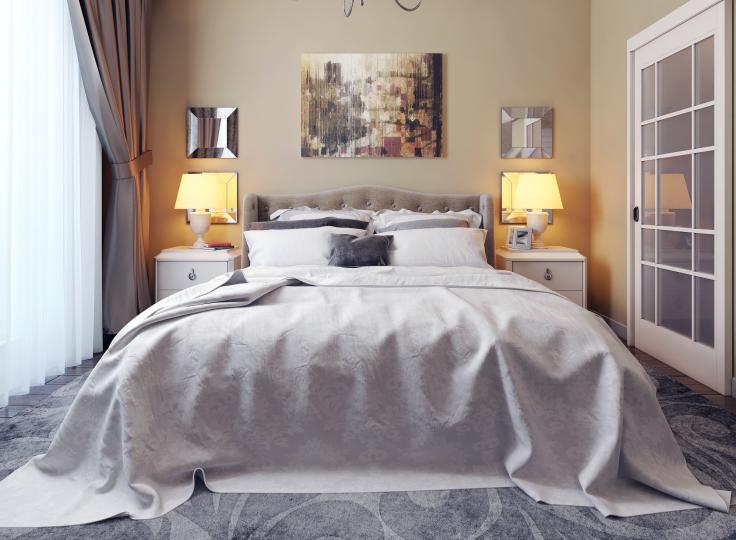 Oświetlenie małej sypialni - jak dobrać odpowiednie światło?